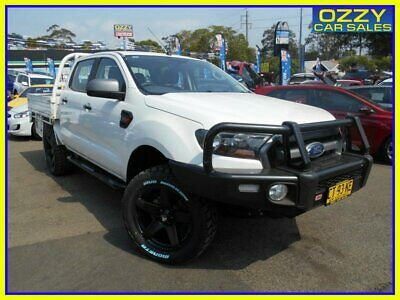 2016 Ford Ranger PX MkII XLS 3.2 (4x4) White Automatic 6sp A Dual Cab Utility