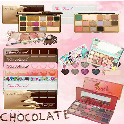 Too Faced Gingerbread Spice/Chocolate Gold/Clover 18 Shades Eyeshadow Palette