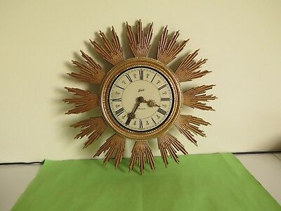 Vintage SCHATZ Elexacta, Electromechanical wall clock, Working condition.