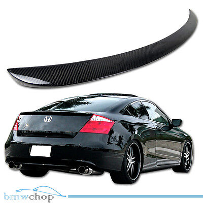 PUF Type 162 SV Rear Boot Trunk Lip Spoiler Wing For Honda Accord 2008-12 Coupe