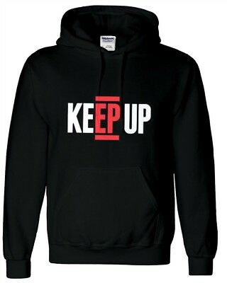 Ksi Keep Up Kids Hoodie Inspired Gaming Gamer You tuber Size 10-11 L SALE!!
