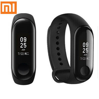 Original  Mi Band 3 Fitness Smartwatch mit Pulsmesser Globale Version Schwarz