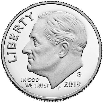 2019 S Silver 10C Roosevelt Dimes Proof Deep Cameos Untouched Presale 1 Coin