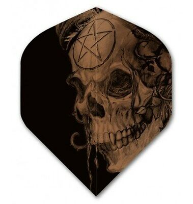 "Alchemy Extra Strong Dart Flights - Pro 100 Copper Collection ""Samain Skull"""