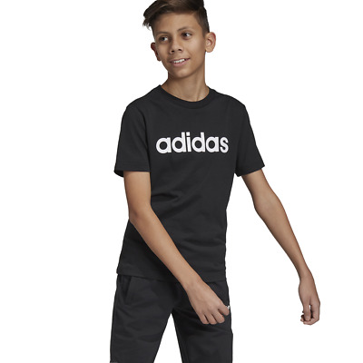 458a7dce19c0 Adidas Kids Young Boys Tshirt Essentials Linear Tee Training DV1811 Modern