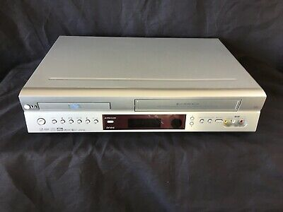 LG DV1010 DVD Player VHS VCR Video Recorder Player Combo Combi (r223)