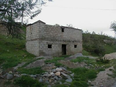spanish barn with plannning for a static caravan or wooden lodge up to you