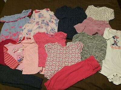 Big Bundle Of Baby Girl Clothes 12-18 Months