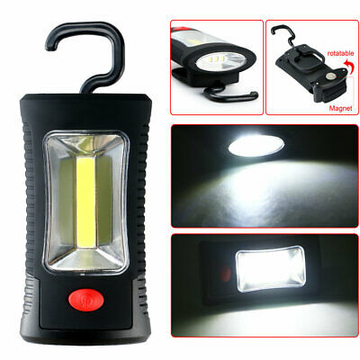 COB LED Work Light Inspection Lamp Hand Tool Garage Flashlight Torch Magnetic UK
