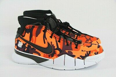 40e4b3e0337d Nike Kobe 1 PROTRO Undefeated PE Orange Camo Phoenix Size 9.5 DS New  BV1207-902