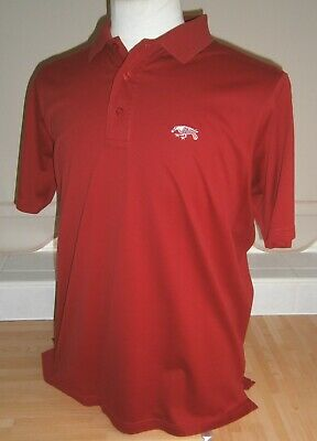 NEW minus Tags - Mens GLENMUIR Polo Golf Shirt - Size LARGE - Lush RED Colour