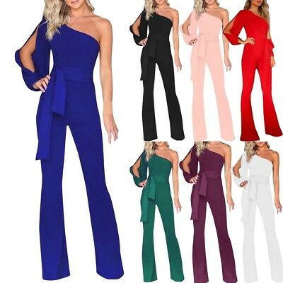 cd5d535198 Women Jumpsuit Romper Bodycon Playsuit Clubwear Trousers Party Long Dress  Pants