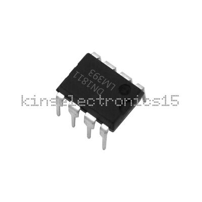 20pcs LM393P LM393N LM393 DIP 8 pins Low Power Voltage Comparato TDO