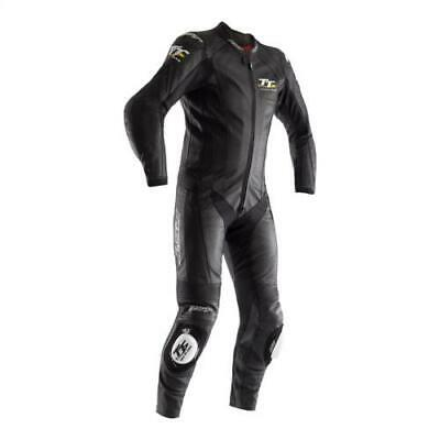 Rst Iom Tt Grandstand Leather One Piece Suit Isle Of Man Black Only £349.99 2236