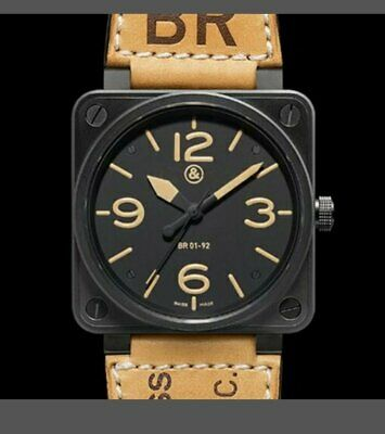 NEW bell Automatic Movement Men's watch best ross Watches GMT watch