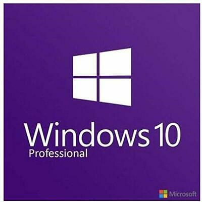 Windows 10 Pro Professional Vollversion 32&64 Bit (Produkt-Key) schnell Per Mail