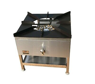 32 Jet Burner Stockpot Cooker For Commercial Catering Use Multi Jet Cooker