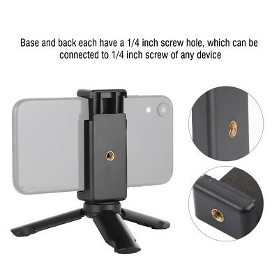 PULUZ Mini Universal Folding Stand Tripod Mount Holder for Cell Phone Smartphone