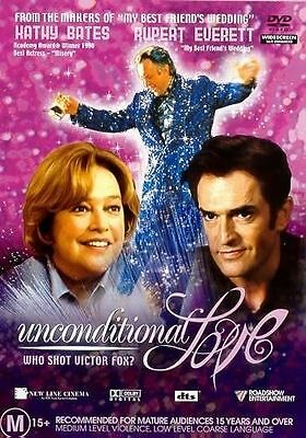 Unconditional Love (DVD, 2003) // Ex-Rental // No Cover // Disc & Case only