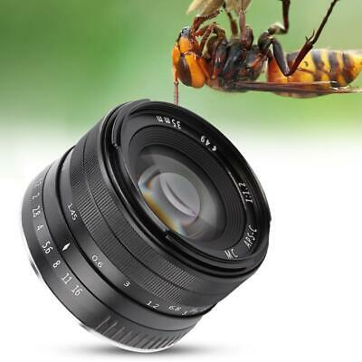 Mcoplus 35mm f/1.2 Manual Focus Wide Angle Large Aperture Lens for Fuji X-A1/A2