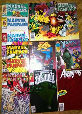 Marvel Fanfare - Avengers - X-Men Lotto 12 Albi Originali