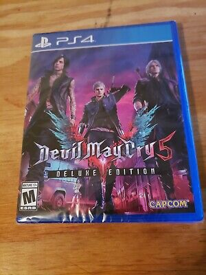 Devil May Cry 5 Deluxe Edition - Sony Playstation 4 PS4 Brand New Sealed