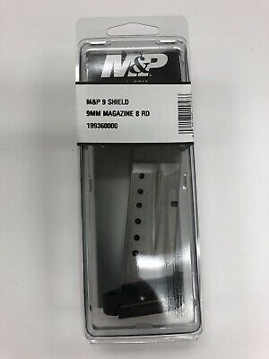 Smith & Wesson M&P Shield 9mm 8 Round Magazine 19936 Factory Mag