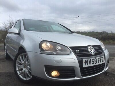 2009 VW Golf 2.0 TDi GT Sport AUTO FULL Leather 1 LADY Owned LONG MoT FSH 2KEYs
