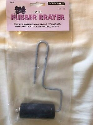 Scratch-Art Rubber Brayer (Soft)