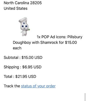 Funko Pop! Ad Icons: Pillsbury Doughboy With Shamrock Funko Shop ECCC 2019