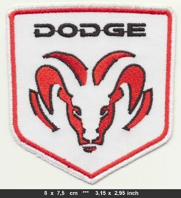 DODGE Aufnäher Aufbügler Patches Auto cars Challenger Charger Ram Van USA v1