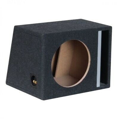 "Basstunnel Lautsprecher Subwoofer Bass Woofer MDF Box 12"" 30cm 50L"