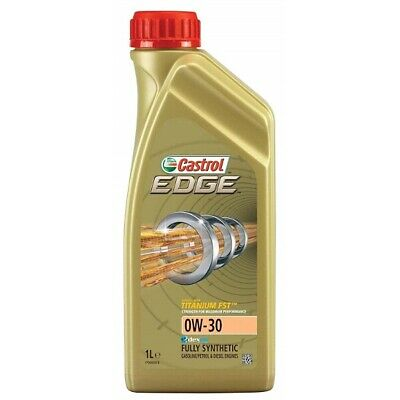 1 Litre 1L Castrol Edge 0W30 Fully Synthetic Engine Oil VW Mercedes & Longlife