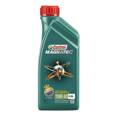 1 Litre 1L Castrol Magnatec 10W40 A3 B4 Part Synthetic Car Engine Oil Multigrade