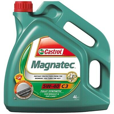 4 Litres Castrol Magnatec 5W40 C3 Fully Synthetic CAS-2287-7065-4 Car Engine Oil