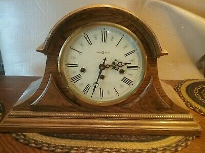 Howard Miller Westminster Chime Mantel Clock  # 613-102 Zeeland Mi. 2 Jewel