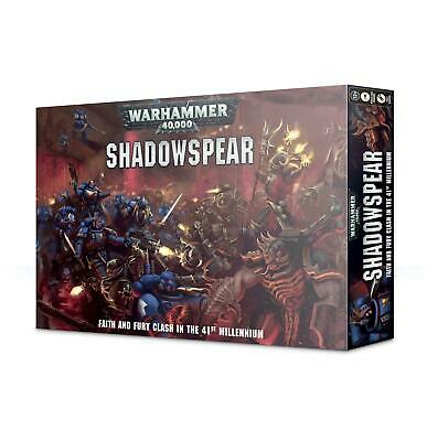 Warhammer 40.000 Shadowspear / Schattenspeer Box deutsch OVP