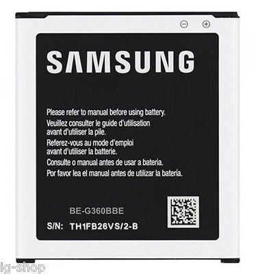 BATTERIE AUTHENTIQUE POUR GALAXY CORE PRIMA SM-G360F original en cf bulk