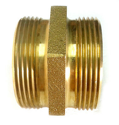 """2-1/2"""" MALE NSTx 2-1/2"""" MALE NST FIRE HYDRANT HEX ADAPTER DMH 25F25F"""