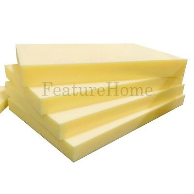 High Quality Memory Foam - Cut to Size - For Seats Sofas Dining Chairs Pets etc