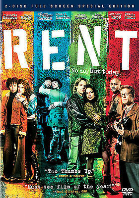 Rent (DVD, 2006, 2-Disc Set, Special Edition, Wide Screen)*FACTORY SEALED**