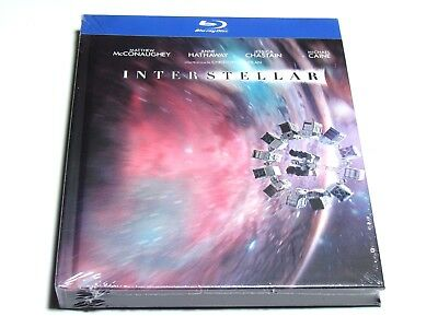 INTERSTELLAR Blu-Ray MEDIABOOK LIMITED EDITION IMPORT BRAND NEW REGION FREE