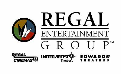 Regal Premiere Movie e-Tickets, No Expiration, Email Delivery Only!