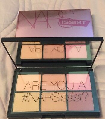 Nars Narsissist Unfiltered II Cheek Palette Bnib!!