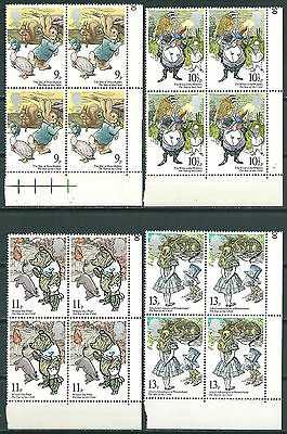 Gb 1979 Year Of The Child Sg1091-1094 Set Corner Blocks Of 4 Mnh** Stamps -01