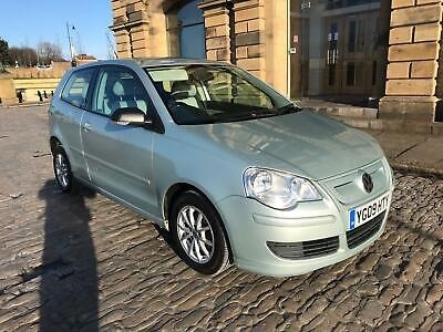 2009 Vw Polo 1.4 Tdi Bluemotion Free Tax Huge Mpg Low Insurance