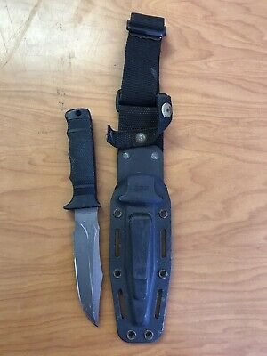 SOG SEAL PUP Combat Knife Seki Japan with Kydex Sheath