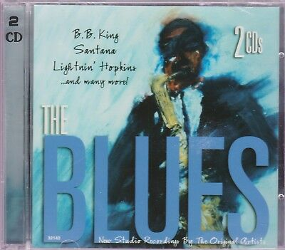 ♫ The Blues  Two Cd Set- 20 Tracks - Brand New 2 Cds - Fast Free U.s. Shipping ♫