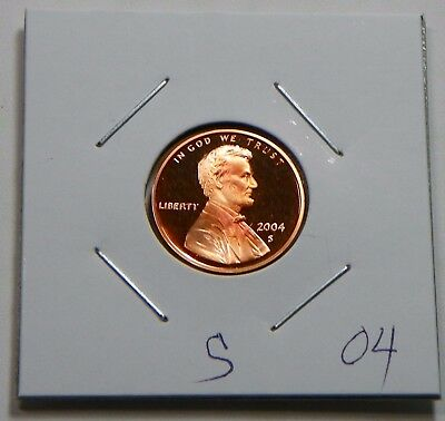 2004 S Proof Lincoln Cent Penny from U.S. Proof Set