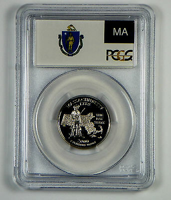 2000-S Massachusetts Clad  Proof State Quarter PCGS PR69DCAM